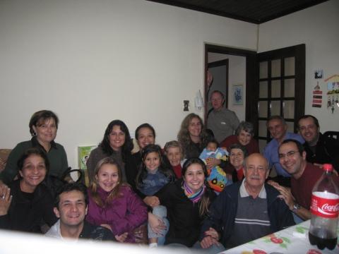 Família (quase) toda reunida!!