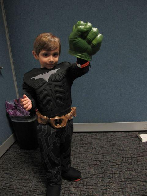 Batman ou Hulk?