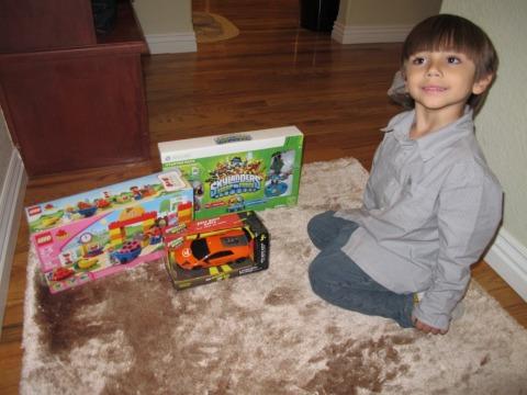 Papai Noel trouxe o Skylanders que ele tanto queria!