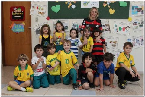 Vai Corinthians... Ah, não, é vai Brasil!!